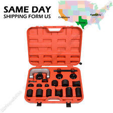 21PCS C PRESS TRUCK CAR BALL JOINT NICE DELUXE SET SERVICE KIT REMOVER INSTALLER