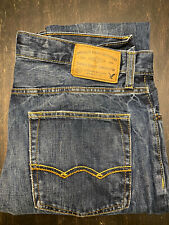 American Eagle Blue Jeans Slim And Straight 32x30  Slightly Worn