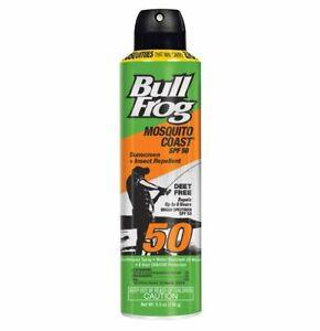 Bull Frog Mosquito Coast Sunscreen Insect Repellant SPF 50 5.5oz Exp 3/21