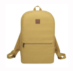 Höher Mustard Chadwick Backpack Water Resistant 12oz Canvas Minimal Design