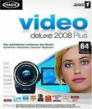 MAGIX Video deLuxe 2008 Plus von MAGIX AG | Software | Zustand sehr gut