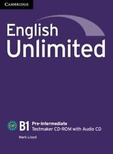 English Unlimited Pre-Intermediate Testmaker CD-ROM and Audio CD (Mixed Media Pr