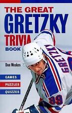 NEW - The Great Gretzky Trivia Book: Games * Puzzles * Quizzes