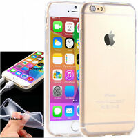 """Thin Clear Soft TPU Silicone Gel Case Cover For Apple iPhone 6S (4.7"""")& 6S plus"""