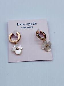 KATE SPADE CLASSIC Zircon STUD EARRINGS Rose Gold