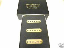 SET OF KENT ARMSTRONG LIMITED EDITION HANDWOUND 61 SINGLE COIL STRAT PICKUPS