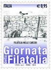 2015 Italia 2 singoli Giornate della filatelia con codice a barre 1700 MNh**