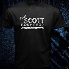 Keith Scott T Shirt One Tree Hill Body Black Men T-shirt Front Print