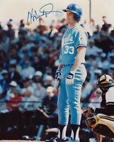 1987 ROYALS Kevin Seitzer signed photo 8x10 AUTO Autographed Kansas CIty
