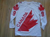 Canada cup 1976  Vintage Canada Trikot AK Sandow