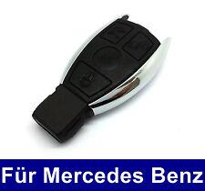 3Tasten Ersatz Auto Schlüssel Gehäuse für Mercedes Benz W203 W204 W211 Chrom
