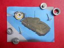 STRETTON MODELS TANK MUSEUM ACCESSOIRES 1/50 (1) TOURELLE M8 GREYHOUD SOLIDO