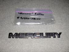 Mercury Script Emblem 1993 1994 95 Villager Nautica Mini Van-Ford Badge/Ornament