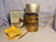 Vintage Optimus 123 Climber Svea Stove W Box Portable Camping Backpacking Sweden