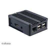 Akasa A-RA03-M1B Aluminium Case for Raspberry Pi (Model 1,2,3)