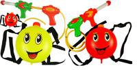 Water Gun Backpack Squirt Pool Toy Soaker Pressure Pump Spray Super Kids Blaster