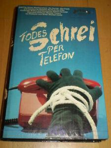 VHS-Rarität: TODESSCHREI PER TELEFON - ARCADE Großbox - no Glasbox