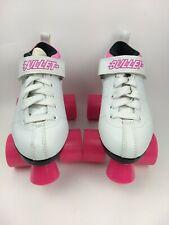 Chicago Roller Skates Bullet Women Size 3 White & Pink Quad Speed Ladies