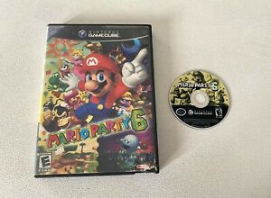 Mario Party 6 (Nintendo GameCube, 2004) No Manual! Tested & Working!