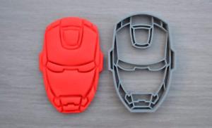 Iron Man Cookie Cutter Fondant Cutter
