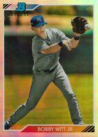 Bobby Witt Jr. 2020 Bowman Heritage Chrome Prospect Refractor # 157/199 - ROYALS