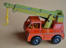 Matchbox Lesney Superfast N.42 Rosso Ferro Fata Gru Camion