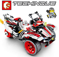 Sembo Blocksteine Sembo Red Motorrad Figur Spielzeug Modell Geschenk Kind 511PCS