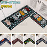 2PCS Non-Slip Kitchen Floor Mat Carpet Area Rug Absorbent Doormat Home Decor