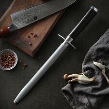 XINZUO Knife Sharpener Rod Kitchen High Carbon Stainless Steel Sharpener Stick