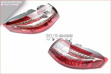 CLEAR / RED LED TAILLIGHTS TAIL LIGHTS FOR 99-04 PORSCHE CARRERA 911 996