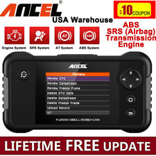 OBD2 Code Reader Scanner ABS SRS Airbag Transmission Reset Diagnostic Scan Tool