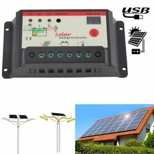Automatically Solar Regulator 30A Solar Charge Controller PWM For Solar Panel Ba