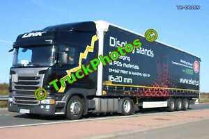 Truck Photo TR-00189 Scania R410 Reg:- WGM3EG6 Op:- Ellert M20 Dover Lorry Kent