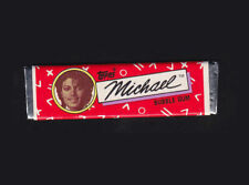 Michael Jackson Chewing Gum TOPPS Bubble Stick Red Wrapper Kaugummi 1984 NEW