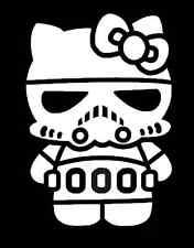Hello Kitty Storm Trooper Vinyl Decal Sticker