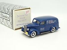 Durham Classics 1/43 - Ford Panel Delivery 1939 Toronto Toy Show 1987