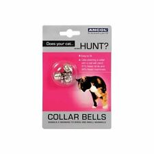 Ancol Pet Products Acticat Cat Collar Bells Assorted 3pk X 12