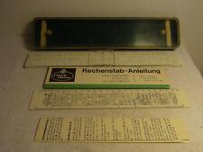 Faber Castell 1/54 Rechenschieber Rechenstab mit Anleitung #A