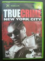 TRUE CRIME NEW YORK CITY MICROSOFT XBOX GAME