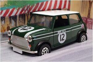 Corgi 1/36 Scale 98142 - Mini Cooper - Cooper's Garage #12 Green/White