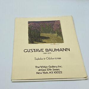Gustave Baumann Witkin Gallery 1881-1971 Exhibition Catalog 1981
