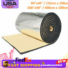 Auto Sound Proofing Deadening Heat Shield Insulation Noise Material Car Mat SALE