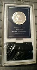 STAR TREK INSURRECTION COMMEMORATIVE SILVER MEDAL Franklin Mint