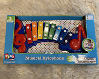 Musical Xylophone - 5 Piece Set - Play Zone Preschool - 3+ Years - 2 Mallets