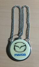 Mazda Schlüsselanhänger Kette - Maße Logo 39mm