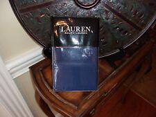 NIP Ralph Lauren Dunham Sateen Cadet Blue King Pillowcases Pair