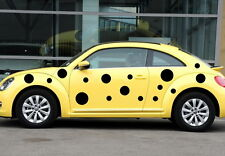 Car  Sports Dots Door Decals for Beetle Vinyl Motor Side Stickers ZC680 44pcs