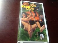 Jungle Boy VHS 1998 RARE Clamshell case A-PIX Entertainment