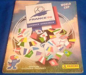 original full album panini world cup France 1998 printed in Brazil