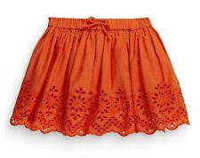 •••ВNWT NEXT Girl Party Dress • Orange Embroidered Skirt • 100% cotton • 2-3 yrs